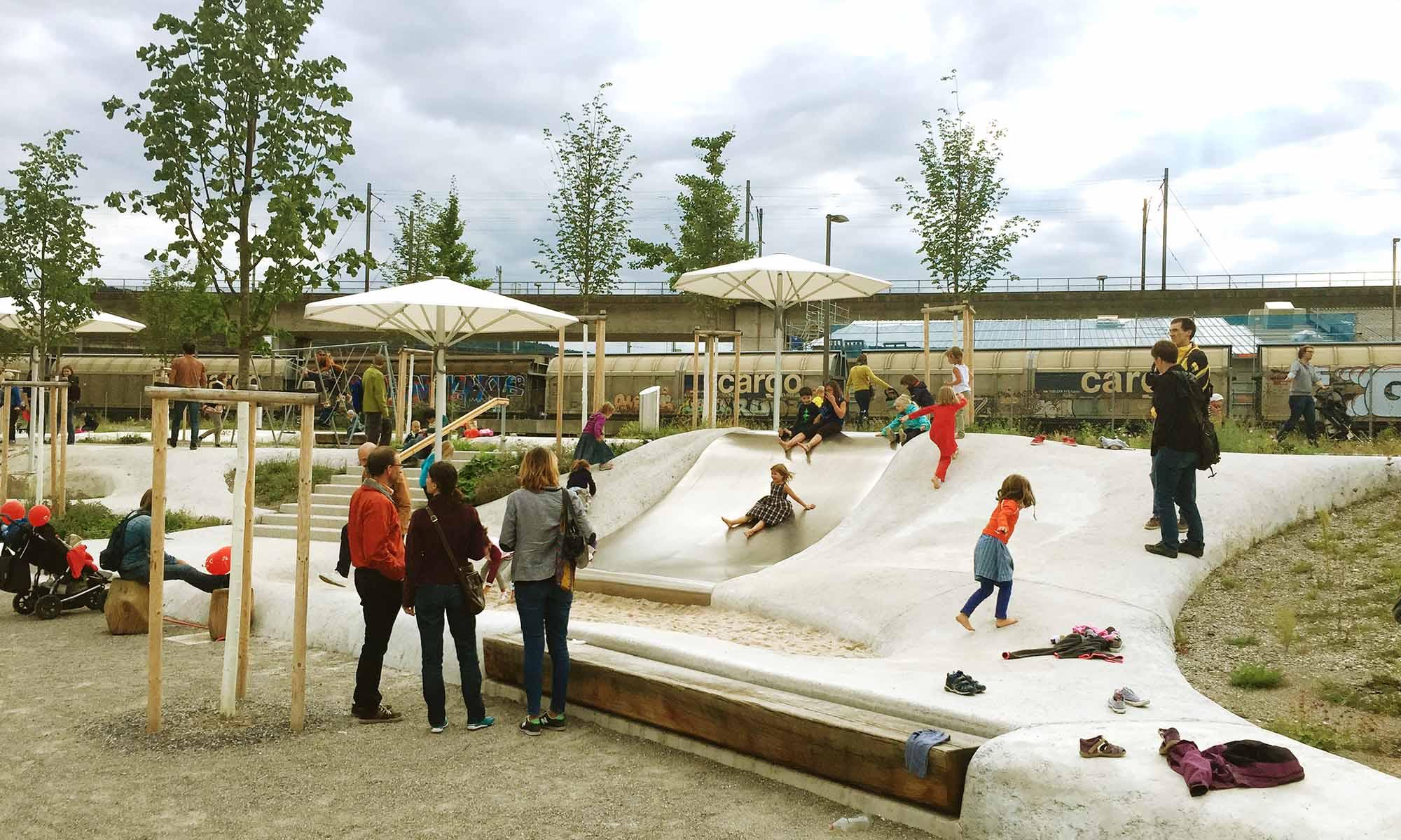 Pfingstweid Park Zurich