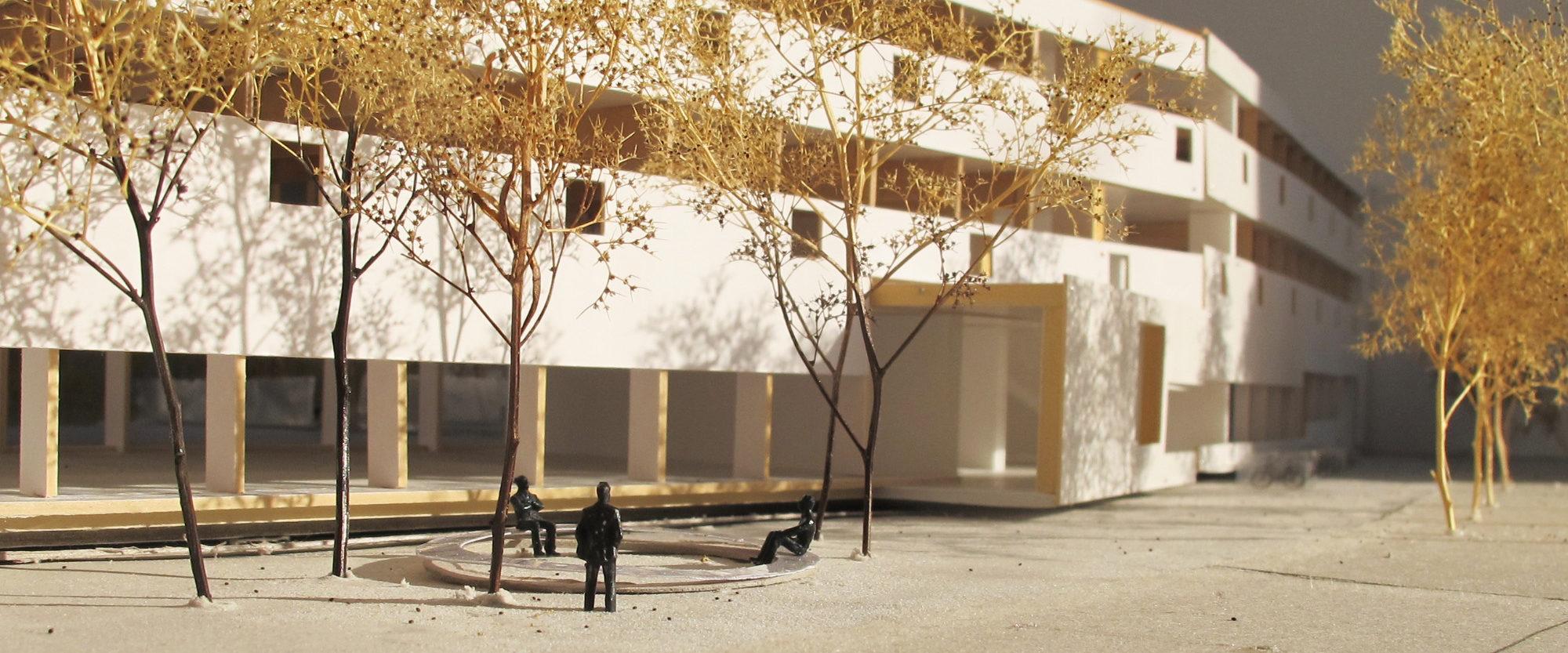 Schulhaus Pfingtsweid Zurich